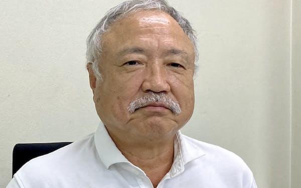日本ラグビー協会の森重隆会長=(C)JRFU