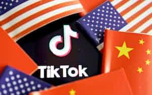 トランプ米大統領はTikTokと米オラクルの提携案を認める方針=ロイター
