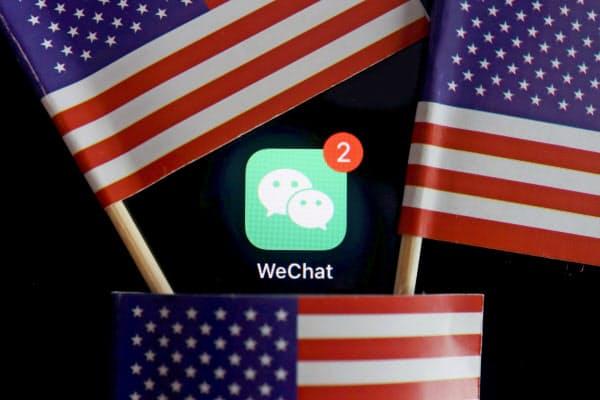 米連邦地裁は中国発の対話アプリ「WeChat(ウィーチャット)」の提供を禁止する米大統領令について執行の一時差し止めを命じた=ロイター