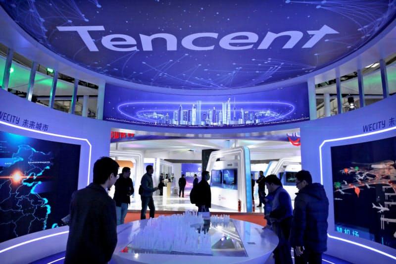 テンセントはゲーム会社に出資し、グローバルでネットワークを築く