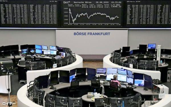 独フランクフルト証券取引所=ロイター
