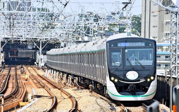 私鉄株が意外な快走(東急田園都市線の新型車両)