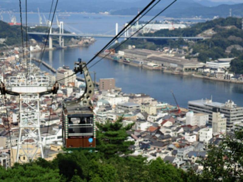 多くの観光客が訪れた尾道市の千光寺山ロープウェイ