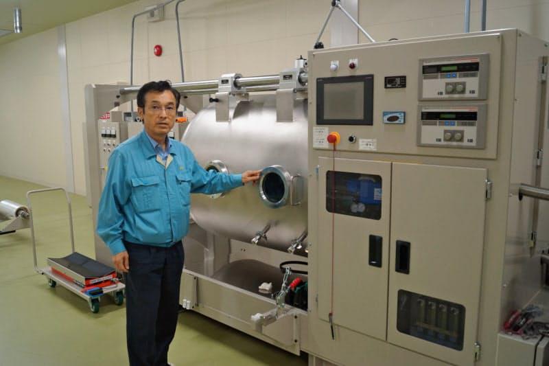 プラズマ照射装置を使って次世代の基板製造技術を開発した