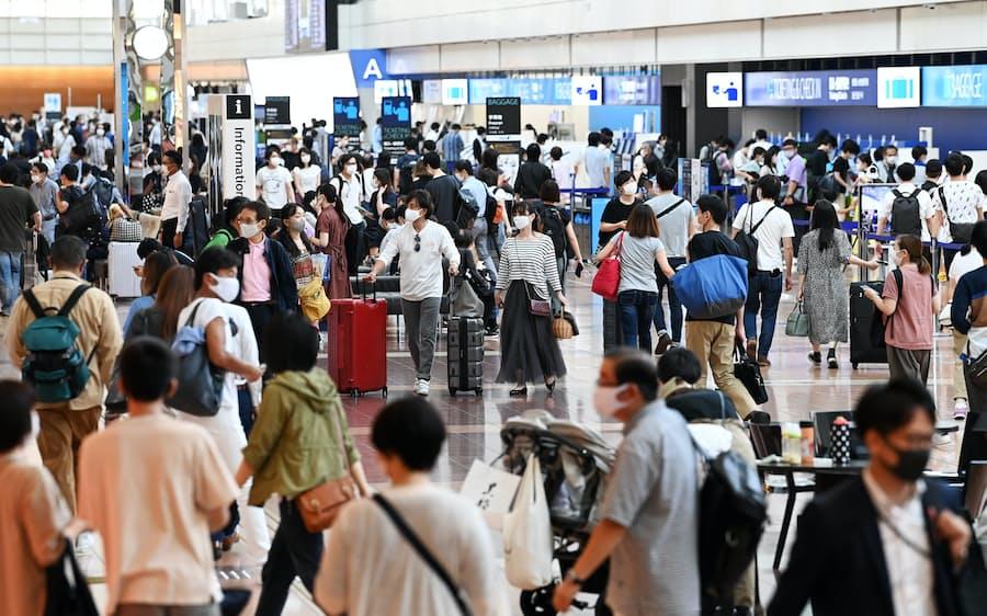 新型コロナ:4連休、人出4割増の観光地も 感染拡大リスクに警戒: 日本 ...