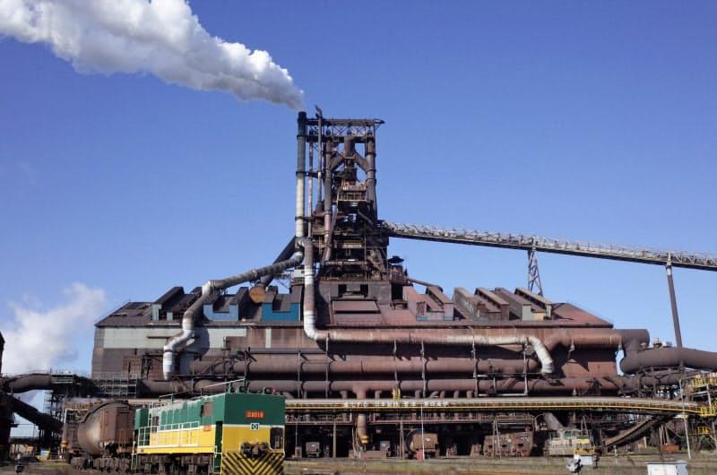 日本製鉄は2020年3月期に巨額の減損損失を計上した(東日本製鉄所君津地区)