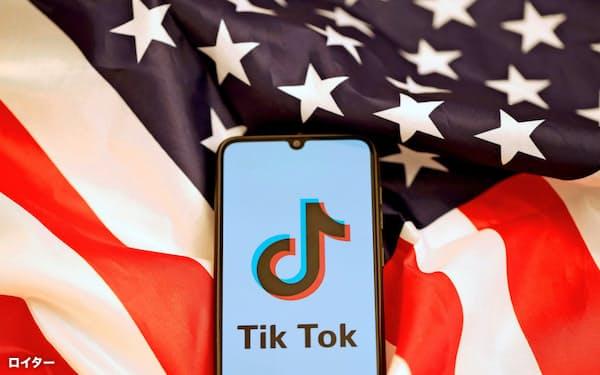 ティックトックと米オラクルは提携案の交渉を続けている=ロイター