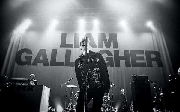 「リアム・ギャラガー:アズ・イット・ワズ」の一場面                                                         (C)2019 WARNER MUSIC UK LIMITED