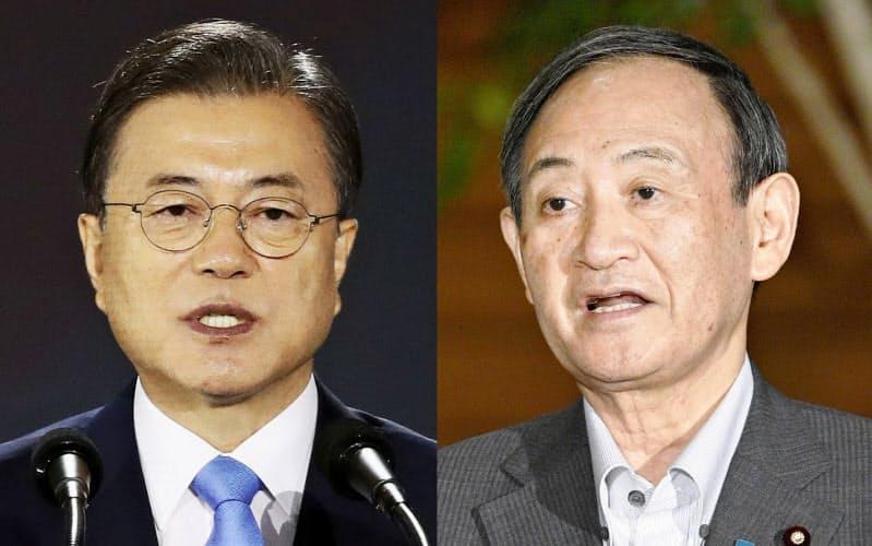 日韓首脳の協議は2019年12月以来=共同