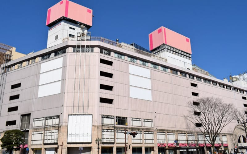 旧さくら野百貨店仙台店は閉店から3年以上も放置されてきた