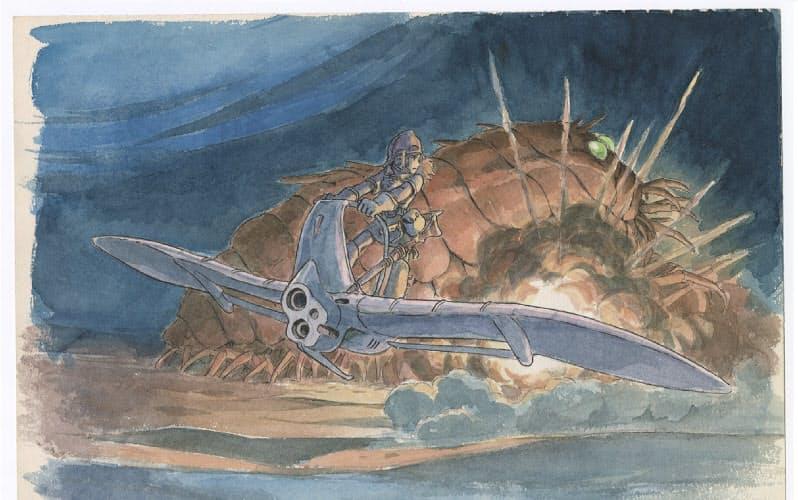 「風の谷のナウシカ」(1984年)のイメージボード(C)1984 Studio Ghibli・H