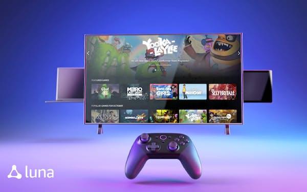 アマゾンは米国で月額5.99ドルのクラウドゲーム「ルナ」を始める