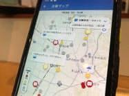 ヤフーの「災害マップ」は災害時にユーザーが身近な情報を投稿できる