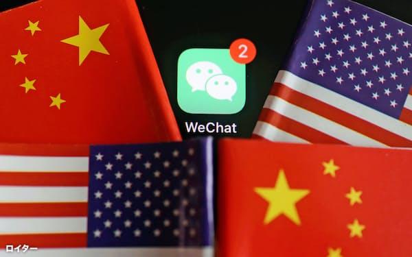 米国はテンセントの「微信(ウィーチャット)」を禁止した。同社の主力事業であるゲームが米中対立の次の焦点として浮上してきた=ロイター