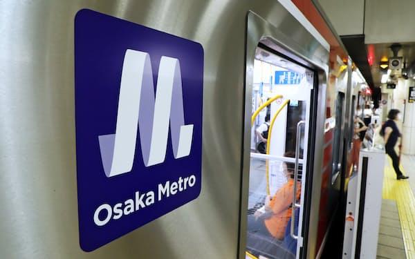都構想が実現すれば地下鉄駅の案内板などの書き換えも生じる