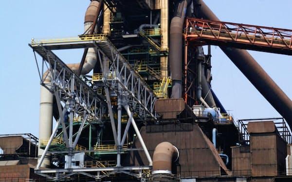 JFEスチールが再稼働した西日本製鉄所福山地区の「第4高炉」