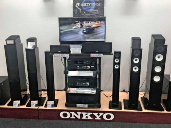 オンキヨーは10月1日付で社名をオンキヨーホームエンターテイメントに変更する