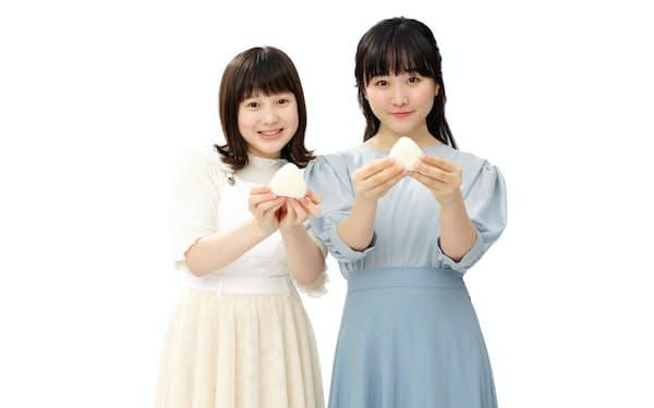 福井のブランド米「いちほまれ」のCMに本田姉妹が登場する