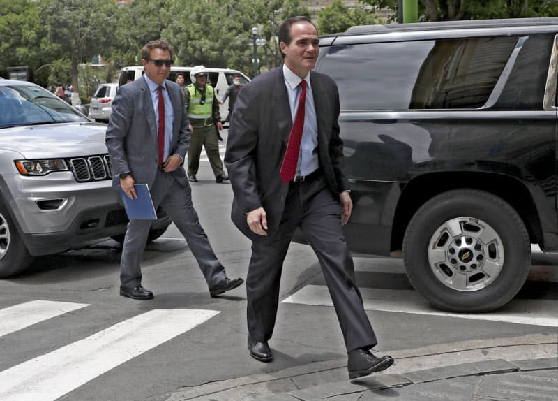 米州開発銀行の次期総裁に米国人として初めて選出されたマウリシオ・クラベルカロネ氏=AP