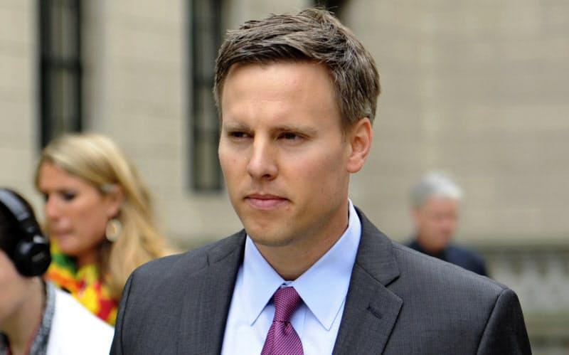 7月半ばにビル・ステピエン氏はトランプ陣営の選挙対策本部長になった=AP