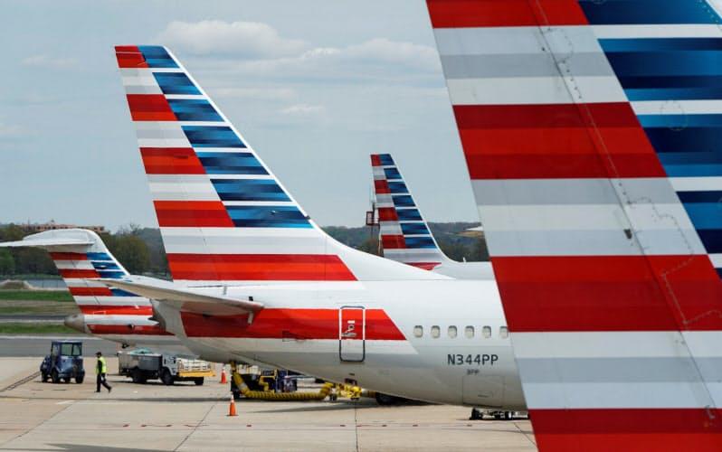 アメリカン航空は流動性確保のための政府融資枠を設定した(ワシントン)=ロイター