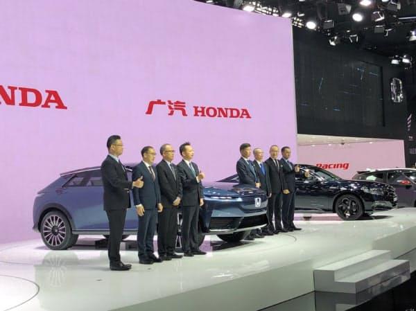 ホンダは中国で初めてとなる「ホンダ」ブランドのEVのコンセプト車を発表した