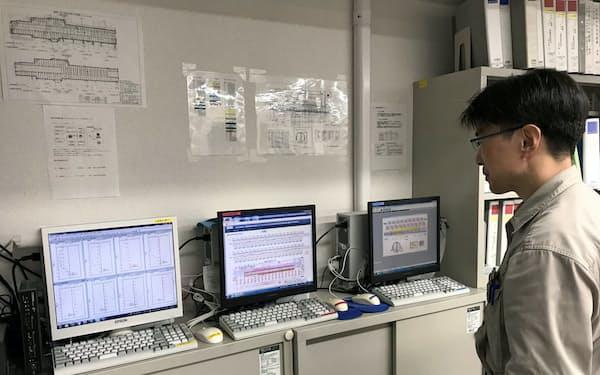 鹿島はセンサーで24時間、既設路線への負荷を計測して日中工事を可能にした