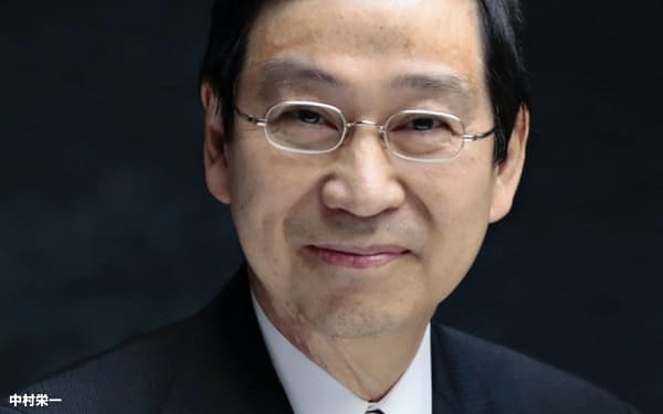 中村栄一・東京大学特別教授(中村栄一氏提供)