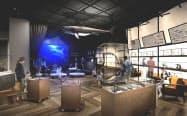 サメのVR水槽を新設するミュージアムゾーン=イメージ