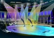 オーシャンライブでは光と音の演出を拡充する=イメージ