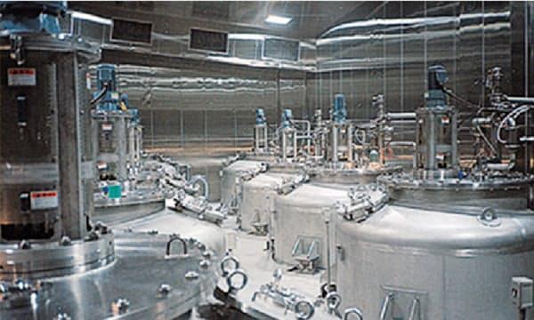 ミドリムシの培養にはタンク製造事業のノウハウを活用した