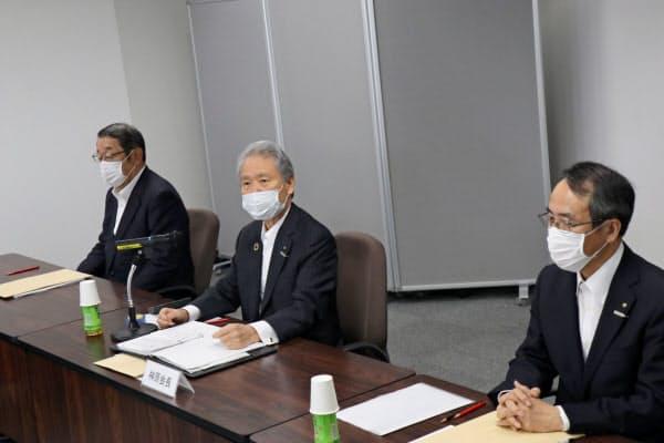 関西電力は大阪の本店以外で初めて取締役会を開いた