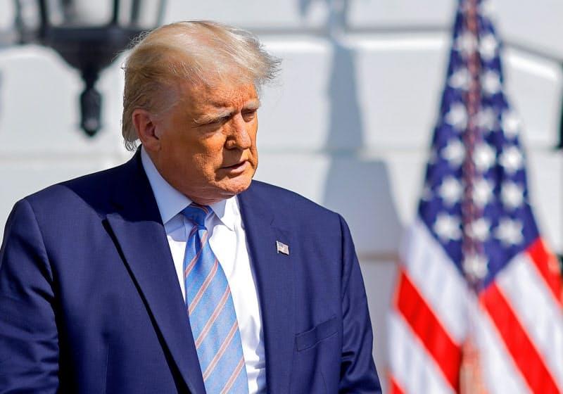 トランプ米大統領は「納税逃れ」問題という新たな火種を抱えた=ロイター