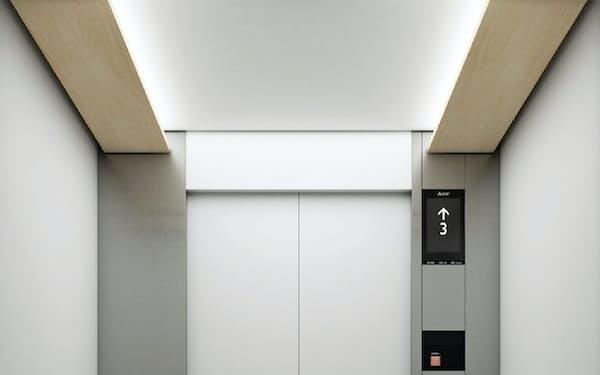 新型エレベーターの内部イメージ
