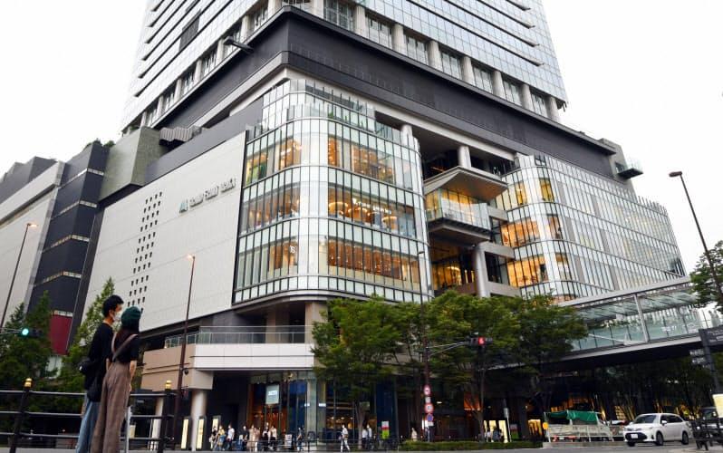 3年ぶりに大阪・キタの「グランフロント大阪南館」が関西の最高価格地点に返り咲いた