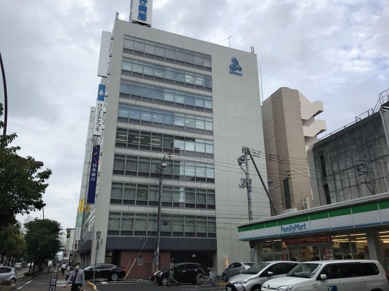 高松市中心部の商業地では価格の上昇率が縮小した (香川県の商業地の最高価格地点)