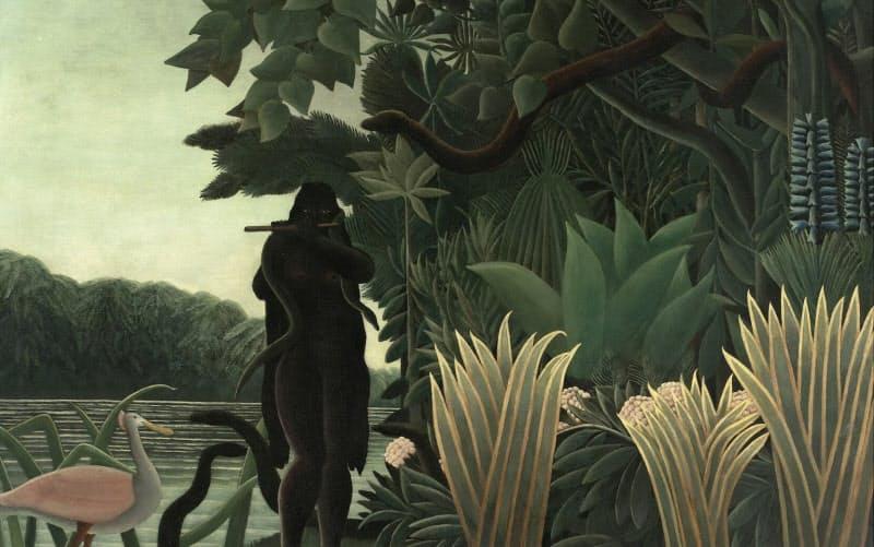 アンリ・ルソー「蛇使いの女」(提供:Heritage Image/アフロ)