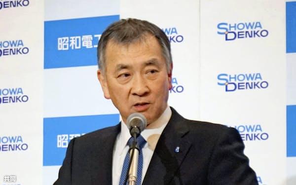 日本化学工業協会 森川宏平会長 写真