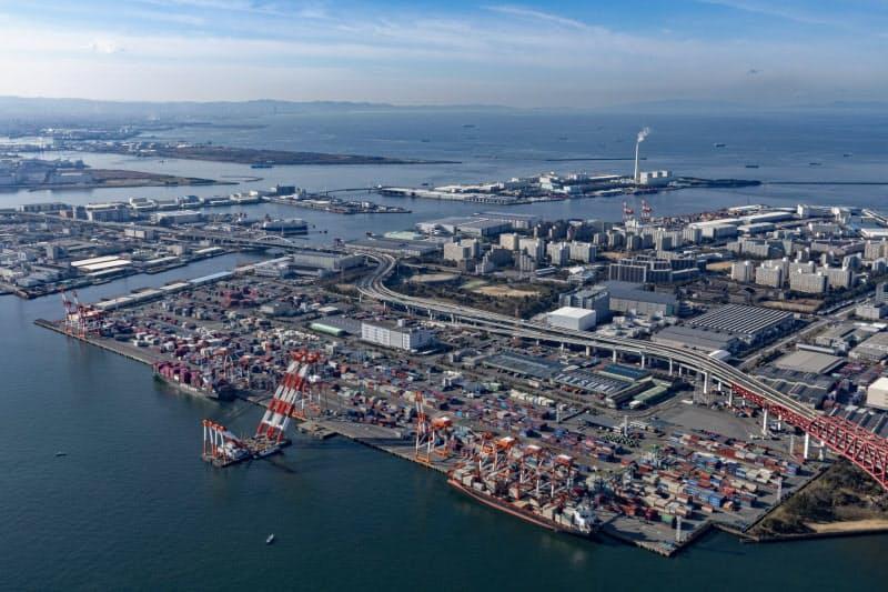 大阪港湾局が発足、集荷拡大へ府市統合 各港強み生かす
