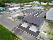 リチウムイオン電池の回収設備を新設するアサカ理研のいわき工場(福島県いわき市)