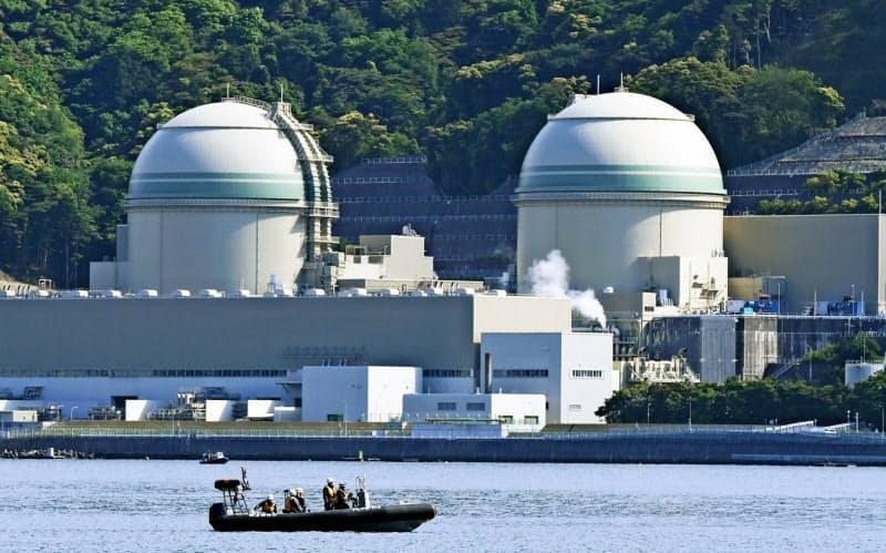 「核のごみ」は原子力発電で発生する(福井県の高浜原発)