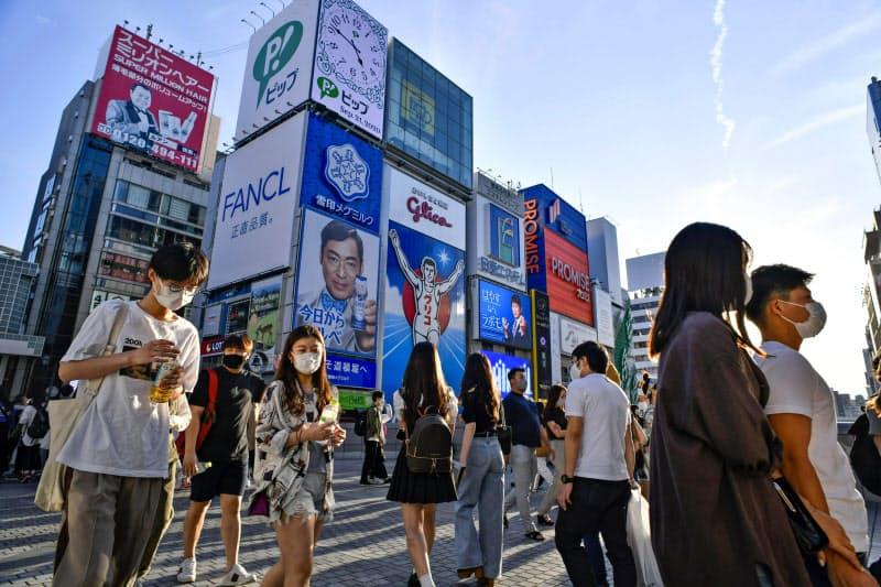 大阪・ミナミの人出は戻りつつあるが、インバウンド需要の回復はまだ見えない