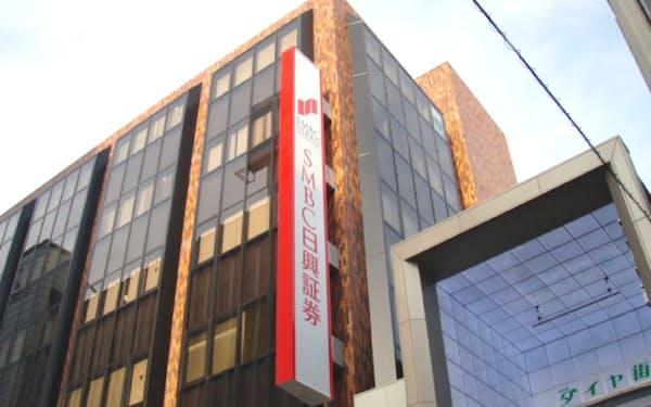 SMBC日興証券は5日から一部支店をサテライトオフィス化した(東京都武蔵野市の吉祥寺支店)