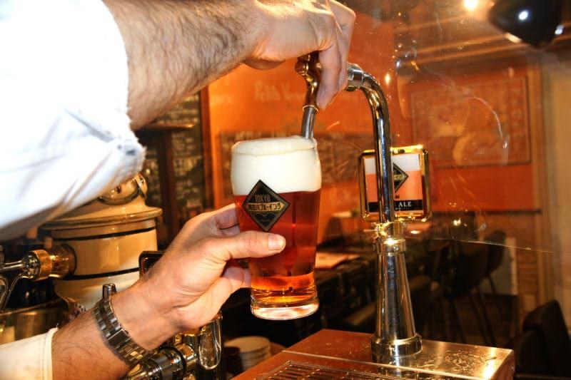 ビール減税効果ではなく「神泡」で売り込む