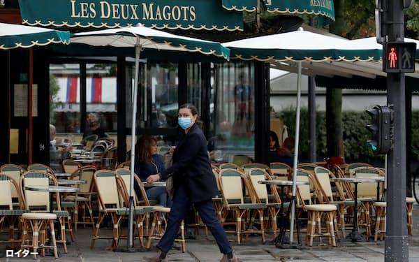 パリは夜間外出を原則禁止に=ロイター