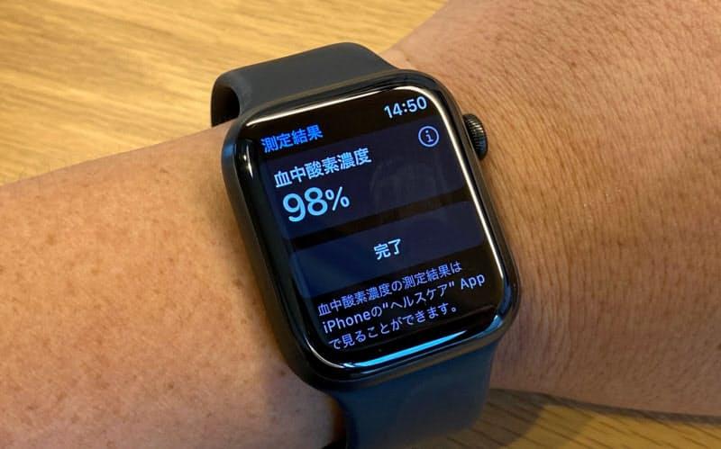 新製品の「Apple Watch Series 6」