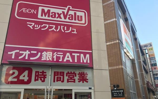 好調なマックスバリュ北店(札幌市)