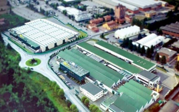 二輪車エンジンを生産するイタリアのモトーリ・ミナレリを売却する(同社工場)