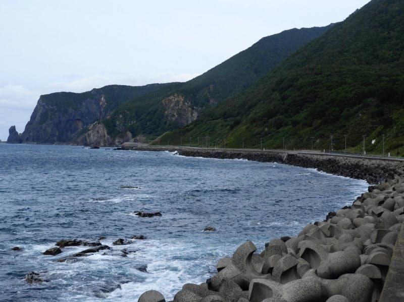 神恵内村の海