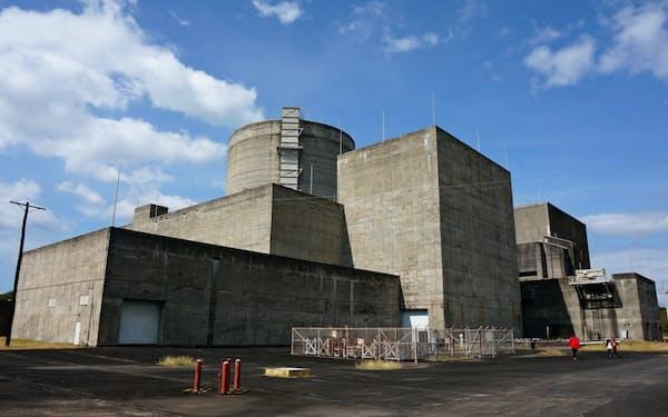 フィリピンにある未稼働の原子力発電所(北部バターン州)